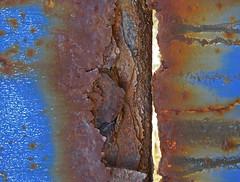 Textures (SlapBcn) Tags: detalle detail macro mar oxido textures slap texturas detall oxid rovell canong7 colorphotoaward slapbcn