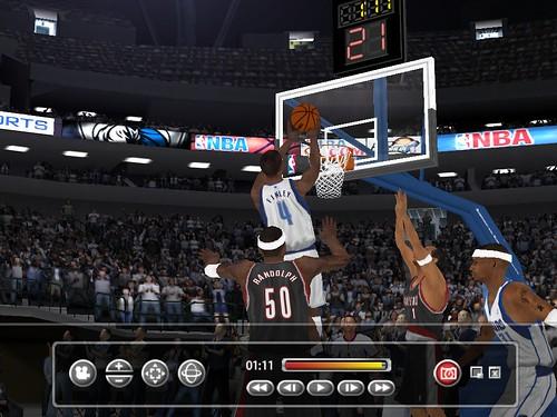 michael finley nba. Michael Finley#39;s Dunk in NBA Live 2005