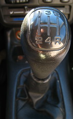 Manual transmission gear lever