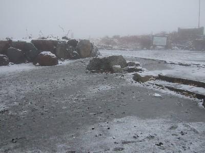 Murodo(snowing)