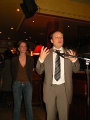 Pierre Creuzet et Quitterie Delmas