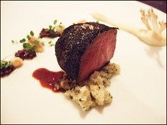 Bacchus (London) - Venison al Carbon
