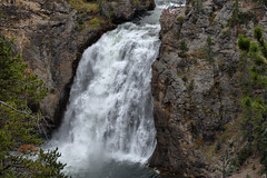 Yellowstone NP- Upper falls (pjsphoto) Tags: nature river landscape yellowstoneriver yellowstonenp naturesfinest watefalls canon30d