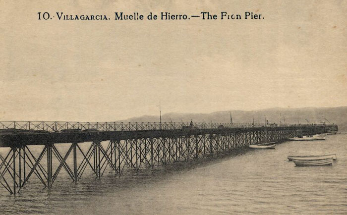 Muelle de hierro.
