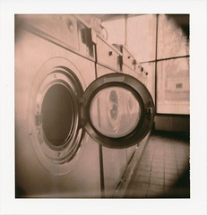 (r.yen) Tags: polaroid holga chocolate laundry type holgaroid 80 sono polga laundramat washingmachines southnorwalk