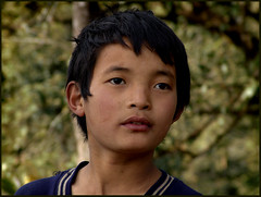 A boy from the mountain (Sukanto Debnath) Tags: boy portrait india mountain face kid sony young f828 sikkim nepali sikkimese debnath abigfave westsikkim sukanto sukantodebnath soreng