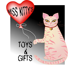 Miss Kitty Logo (faith goble) Tags: pink art illustration digital cat advertising logo graphicdesign artist photographer graphic bluegrass drawing kentucky ky balloon creativecommons poet writer illustrator vector adobeillustrator bowlinggreenky bowllinggreen faithgoble grafixer ccbyfaithgoble gographix faithgobleart