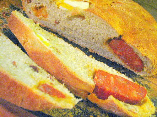 Hornazo (Sausage-Stuffed Spanish Country Bread Made @ Easter)