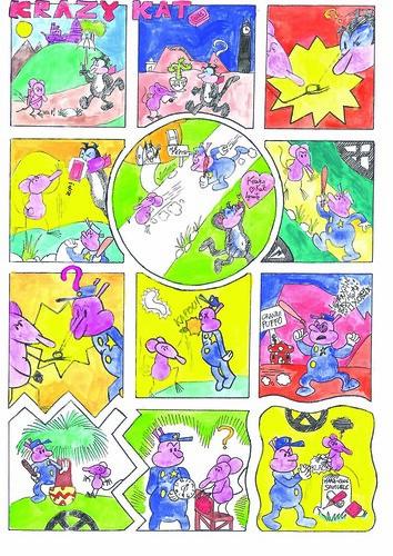 Krazy Kat tribute by Italian schoolchildren - page 3