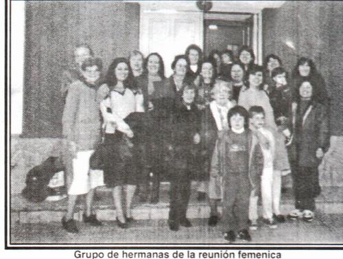 reuniones femeninas la paz