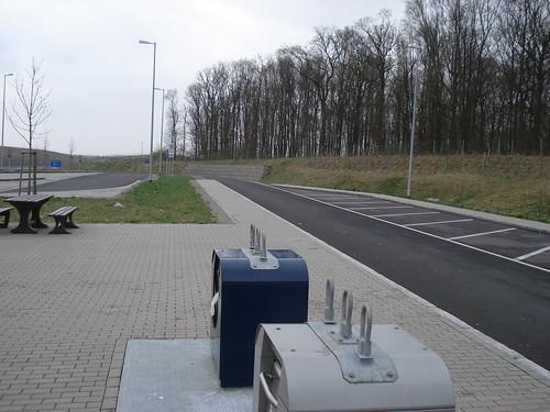 Parkplatz vor Schweinfurt