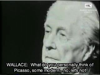 Frank Lloyd Wright in the The Mike Wallace Inteview