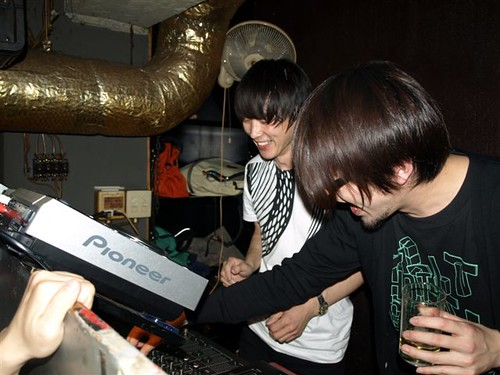 Hideki Kaji & Osanai from Second Royal At Second Royal Party