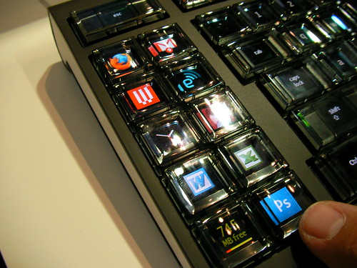 CES 2008: Optimus Maximus Keyboard by LauraMoncur from Flickr
