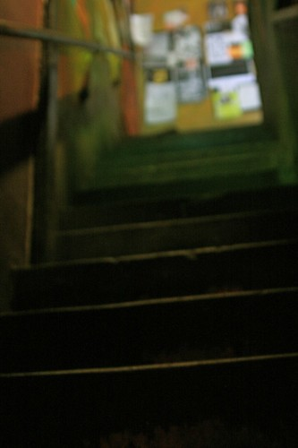gloomy stairs