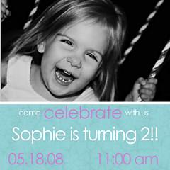 sophies birthday