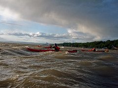 Windy! (Pleuston) Tags: wind sleepyhollow hudsonriverrecreactionolympus720sw kayaknynewyork