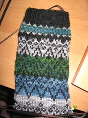 WIP: May Mystery Sock