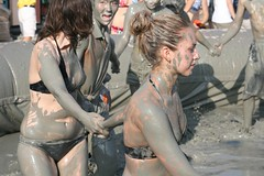 Mud Fest 2008 (Hypnotica Studios Infinite) Tags: men beach festival kids children women boobies babies korea korean bikini booty oops mudwrestling southkorea 2008 cameltoe muddy nipslip mudd mudfest mudpeople daecheon boryeong mudslinging muddies