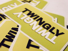 Twingly-stickers