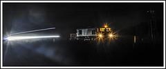 Waiting for a Train (Jim the Joker) Tags: 66188 class66 generalmotors dbc dbcargo coradia class175 atw arrivatrainswales cravenarms themarchesline lighttrails railway train
