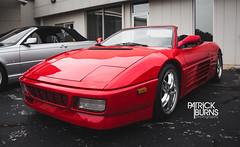 Ferrari 348 Spyder (Patrick.Burns) Tags: ferrari 348 spyder red convertible
