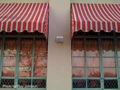 cherry hill speaker one single awning emmons ave side
