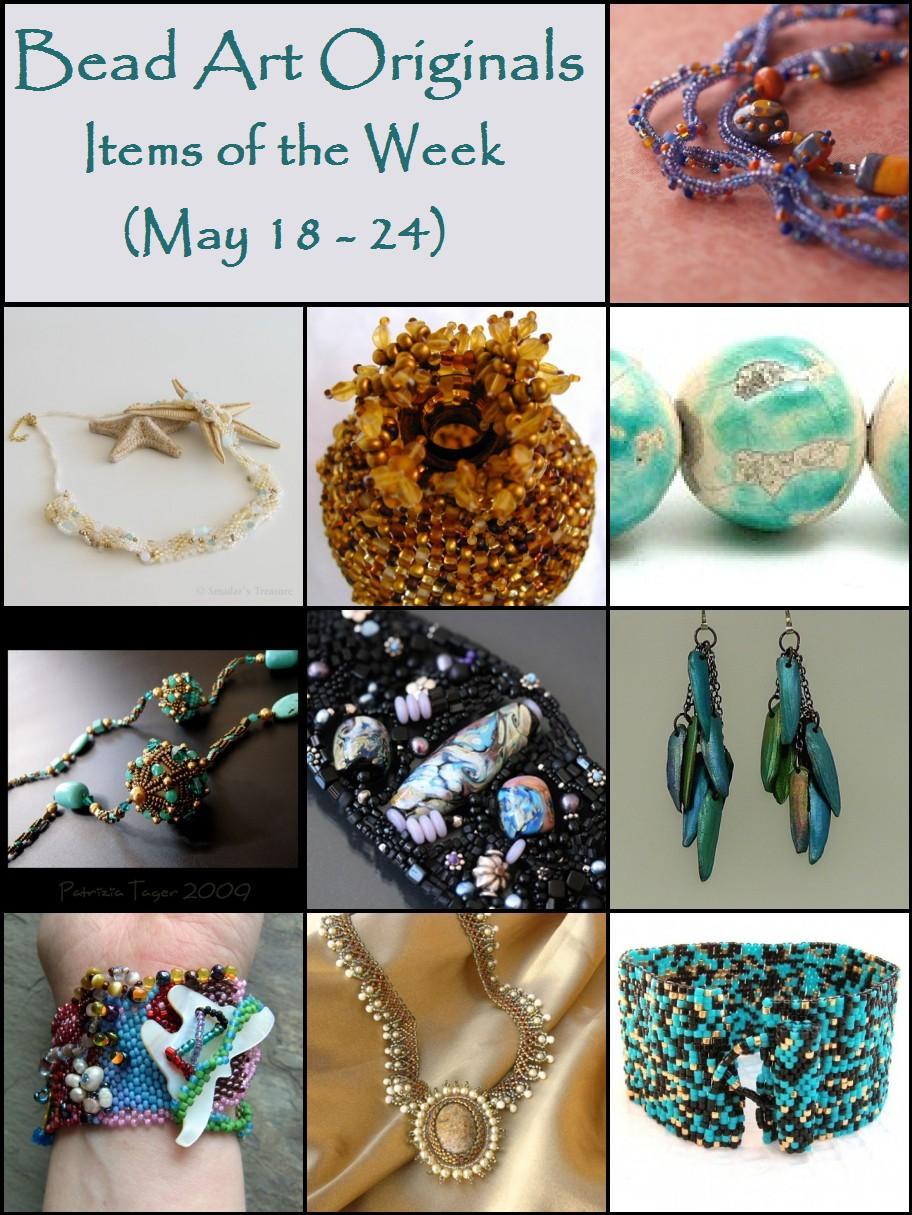 Bead Art Originals Items of the Week (5/18-5/24)