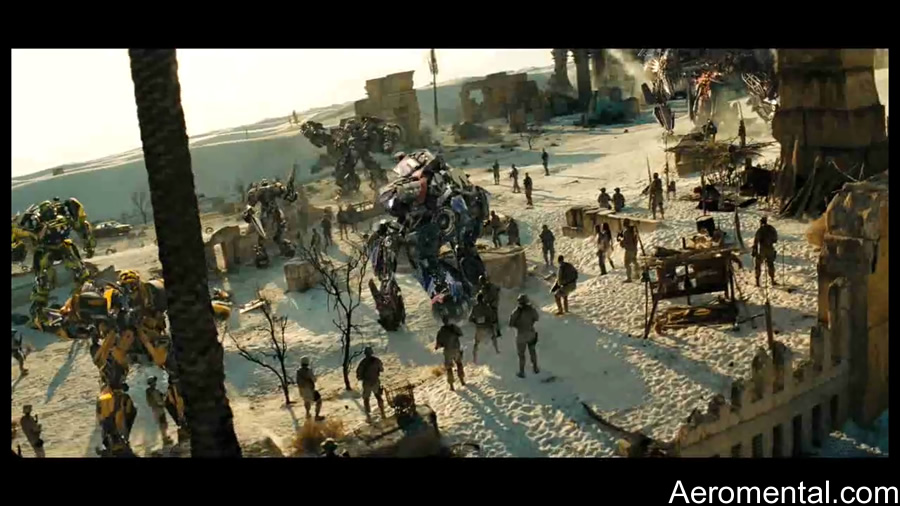Egipto  Transformers 2 the Fallen Autobots