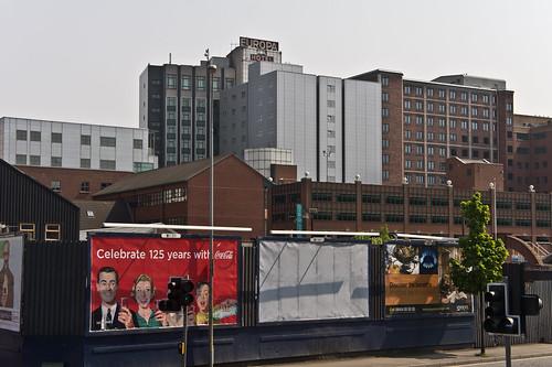 Belfast City - Europa Hotel ( in the distance)