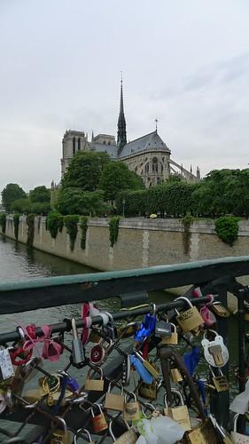 Love Locks by Notre Dame