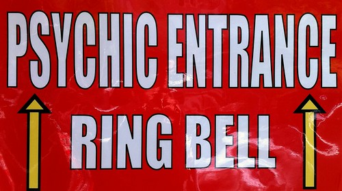 Psychic entrance-ring bell