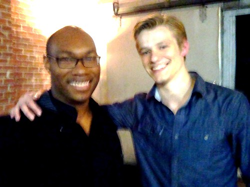 lucas till battle la. CJ Johnson and Lucas Till