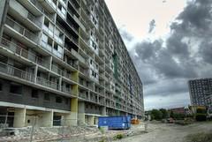 les 4000 : la courneuve (NiCoLaS OrAn) Tags: paris france saint seine project estate cit social council housing suburb 93 denis hlm nord quartier banlieue zus