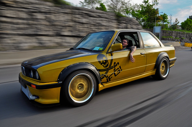 Dtm Riveted Flares On An E34