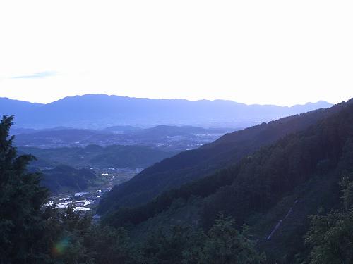 飛鳥の夕日(多武峰見瀬線)-02