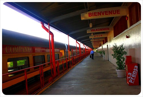 Panama Canal Train Station