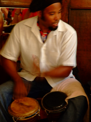 Bongos in action