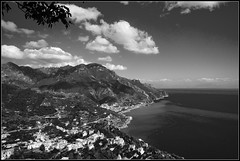 amalfitan coast from road to ravello (Philipp Klinger Photography) Tags: sea sky italy white black clouds campania angle wide naples sorrento ultra ravello amalfi costiera amalfitana amalfitancoast dcdead
