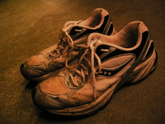 The Old Running Shoes