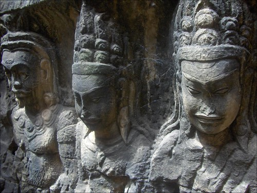 Terrace of the Leper King Carvings