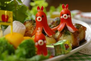 Takoyaki kids meal