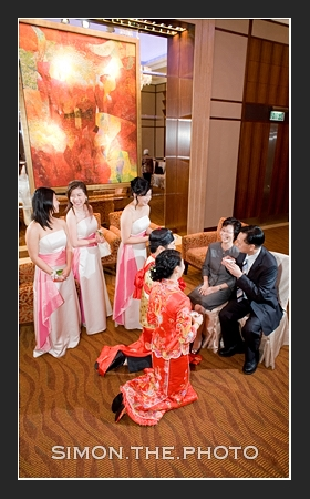 tea ceremony at HKJC