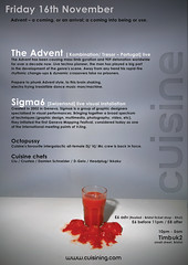 Cuisine 11 flyer - back