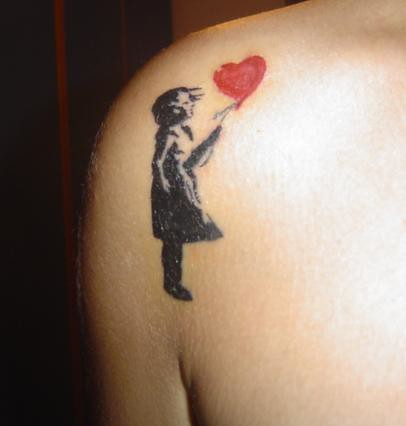 banksy tattoo ideas