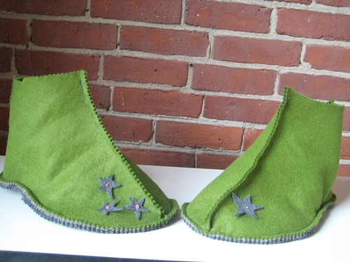 LuckyStitches - Felt Slippers