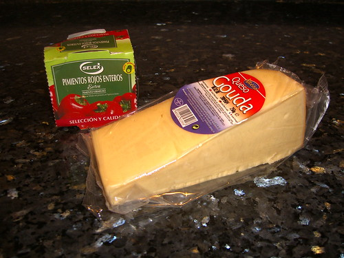 Gouda and Canned Peppers