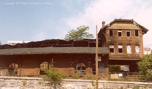CNJ Freight house, Easton PA, 1977
