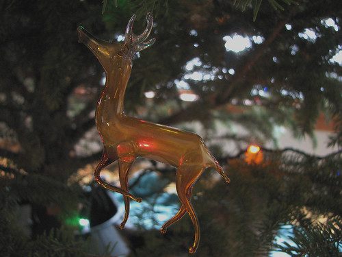 Glass Reindeer