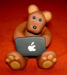 geek bear (I made)